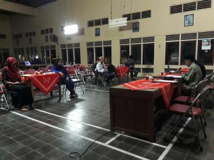 Pelaksanaan Rapat Pleno Terbuka Rekapitulasi DPSHP Pemilu 2019 Desa Gadingsari